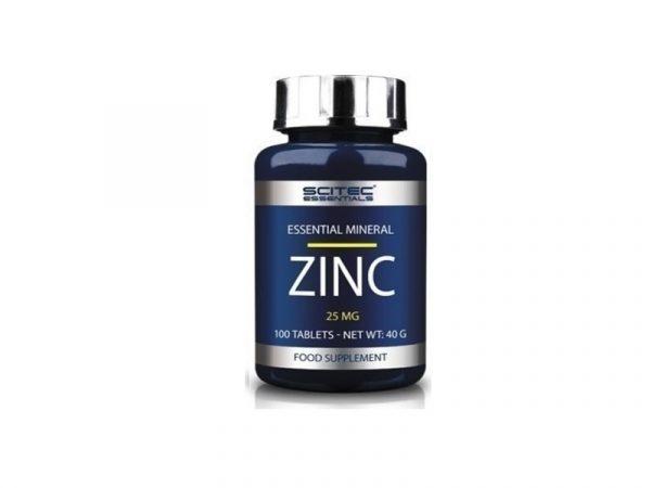 zinc 25mg 100caps
