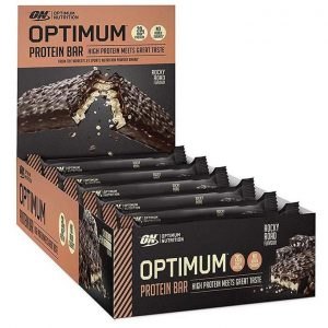 optimum nutrtiotion protein bar