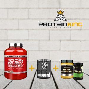 100% whey protein bundle